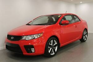 2013 Kia Forte Koup 6Spd Manual|Red|Heated Leather|PST Paid