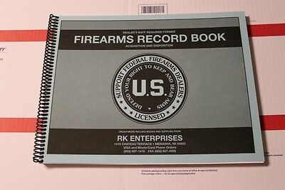 ATF Approved A&D Bound Book Gun Record Log for FFL Federal Firearms Dealer