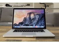 "(TOP SPEC MACBOOK PRO RETINA 15.4"") 3.4GHz i7 QUAD CORE,8gb RAM,256GB SSD,OFFICE 2016, ADOBE CS6"