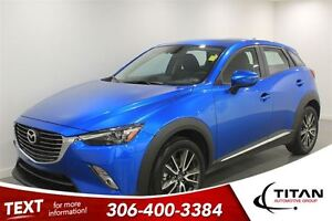 2016 Mazda CX-3 GT|AWD|1898 Kms| Nav|Leather