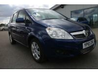 VAUXHALL ZAFIRA 1.6 DESIGN 5d 113 BHP - Quality & Best Value Assured (blue) 2010