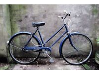 RALEIGH WAYFARER, vintage ladies womens dutch style road traditional bike, mudguards