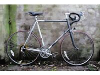 RALEIGH PULSAR. 25 inch, 64.5 cm, XXL size. Vintage racer racing road bike, 12 speed