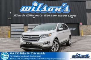 2017 Ford Edge SEL SUV AWD! LEATHER! NAVIGATION! PANORAMIC SUNRO