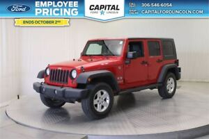 2009 Jeep WRANGLER UNLIMITED X Convertible **New Arrival**
