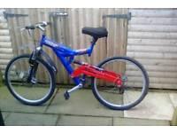 Gent Dual Suspension bike