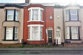 10 Shelley St, Bootle. 2 bedroom mid terraced property. Fitted kitchen and bathroom. DSS welcome.