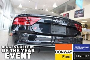 2014 Audi RS 7|605 HP!!|BLACK ON BLACK COMES WITH WINTER TIRES!