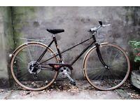 RALEIGH MISTY, 20 inch, 51 cm, vintage ladies womens dutch style mixte frame road bike, 5 speed