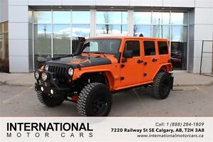 2012 Jeep WRANGLER UNLIMITED LIFTED! LOTS OF UPGRADES!