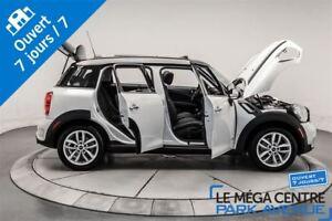 2014 MINI Cooper S Countryman Premium Package, AWD, CUIR