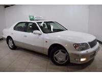 LEXUS LS 4.0 400 4d AUTO 280 BHP (white) 1998