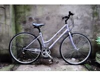 FALCON MERIDIAN, 16 inch, ladies womens hybrid road bike, 18 speed