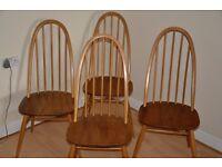 Ercol Windsor Quaker Chairs