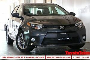 2014 Toyota Corolla FULLY LOADED LE TECH PACKAGE LEATHER NAV POW