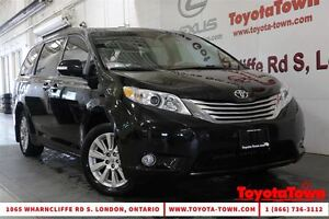2014 Toyota Sienna LOADED LIMITED ALL WHEEL DRIVE NAV & DVD