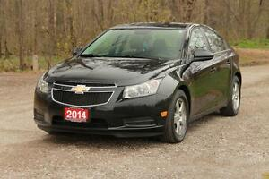 2014 Chevrolet Cruze 2LT Leather + Bluetooth + Certified + E-...