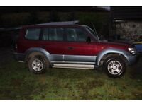 TOYOTA LANDCRUISER COLORADO 1997 Manual MOT expired. needs clutch