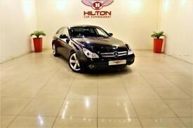 MERCEDES-BENZ CLS CLASS 3.0 CLS350 CDI 4d AUTO 222 BHP + SAT NAV + CLIMATE (black) 2009