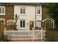 Refurb. unfurnished 3 bed cottage. Fitted kitchen. 2 doubles, 1 single. ORP. Available immediately