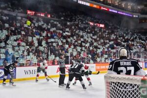 2 Mooseheads lower bowl tickets - rest of season - 6 games