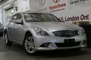 2010 Infiniti G37X AWD BACK UP CAM MOONROOF HEATED LEATHER