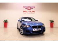 BMW 1 SERIES 2.0 118D M SPORT 3d 141 BHP 1 PREV OWNER + FULL S/ (blue) 2013