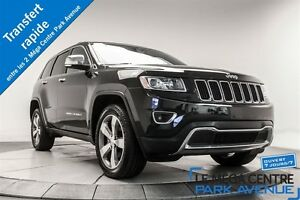 2015 Jeep Grand Cherokee Limited CUIR TOIT NAV CAMERA* PROMO PNE