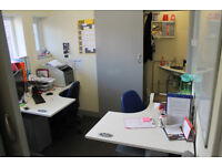 70ft² Office to Rent - Fully Furnished, Toilet, Kitchen Facilities, Internet & Bills Included