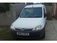 02 Vauxhall combo diesel
