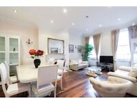Lancaster Gate & Hyde Park. Stunning 3 bedroom flat with internet. 5 mins from tube. Available now