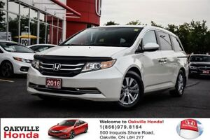 2016 Honda Odyssey EX-L Res 1-Owner|Clean Carproof|Leather|Sunro