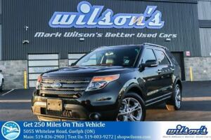 2012 Ford Explorer LIMITED 4WD! 6-PASS! LEATHER! NAV! REAR CAMER