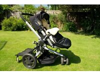 Quinny Buzz Stroller with Quinny Buggy Board & John Lewis cover