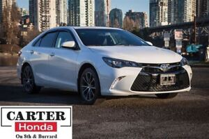 2015 Toyota Camry XSE V6 + NAVI + BSM + ALLOYS + LOCAL!