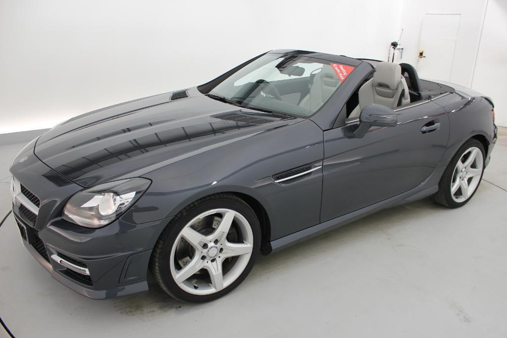 mercedes benz slk slk 250 cdi blueefficiency amg sport 2dr tip auto grey 2013 in crawley. Black Bedroom Furniture Sets. Home Design Ideas