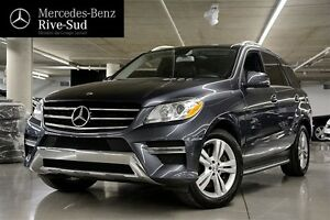 2013 Mercedes-Benz ML350 BlueTEC 4MATIC, Diesel, Toit pano, GPS