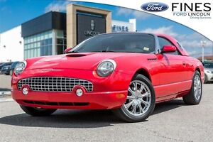 2002 Ford Thunderbird HARD TOP CONVERTIBLE! JUST IN TIME FOR SUM