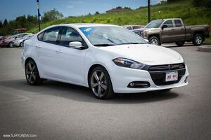 2014 Dodge Dart GT! LIMITED! LEATHER! SUNROOF! NAV! $118 Bi-wkly