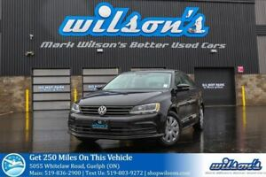 2015 Volkswagen Jetta TRENDLINE+ REAR CAMERA! HEATED SEATS! TOUC