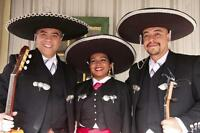 100% authentic Mariachi for hire
