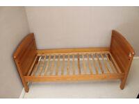 Mamas & Papas Child Bed & Mattress (like new)