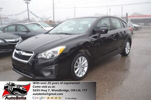 2012 Subaru Impreza 2.0i Touring Pkg AWD Bluetooth One Owner