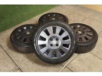 "Genuine Vauxhall Corsa C 15"" Alloy Wheels & Tyres 4x100 Opel B Combo Van Exclusiv Sri Sxi Comfort"