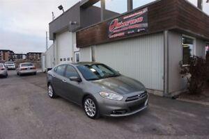 2013 Dodge Dart Limited FULL ÉQUIPÉ CUIR/GPS SEULEMENT 59 200KM