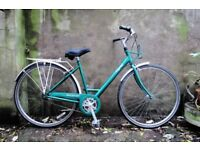 RALEIGH CAPRICE. 19 inch, 49 cm. Ladies womens hybrid road city bike, 3 speed
