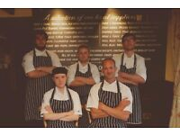 Chef de Partie required in 1 AA Rosette restaurant, Award winning pub & Wedding Venue