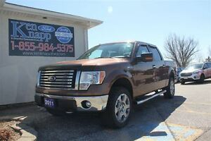 2011 Ford F-150 XLT SUPERCREW 5.0L 4X4 20'S