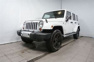 2012 Jeep WRANGLER UNLIMITED Sahara, TOIT DUR,TOIT,MOU,NAV,MAGS,