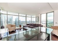 Luxury 2 Bed 2 Bath Apartment in Pan Peninsula East Tower, E14, Canary Wharf, 37th Floor- VZ